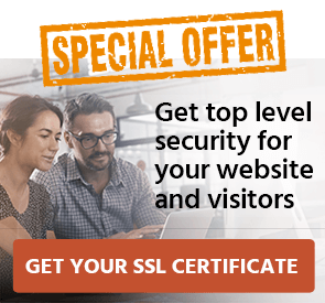 Special Offer - SSL Certificates