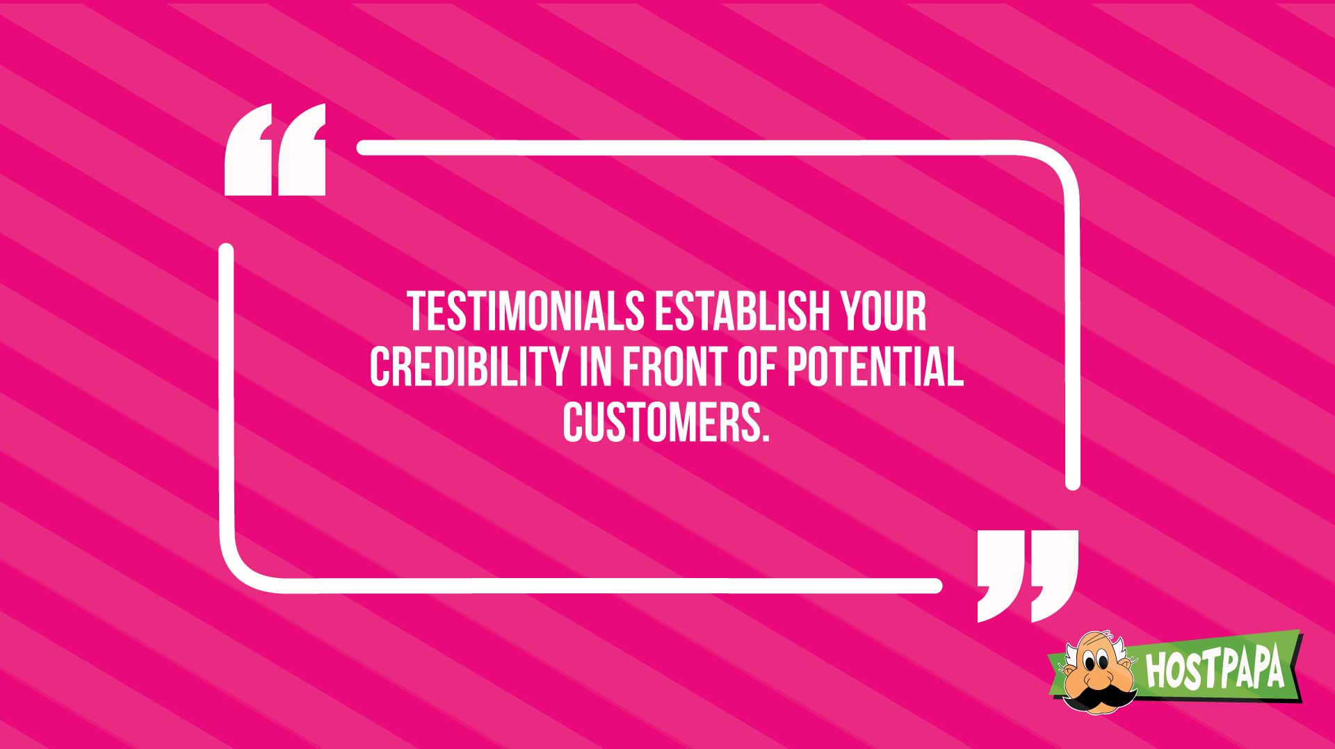 Get more customers through credibility