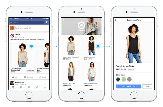 Instant experience is a mode in Facebook ads that includes all formats
