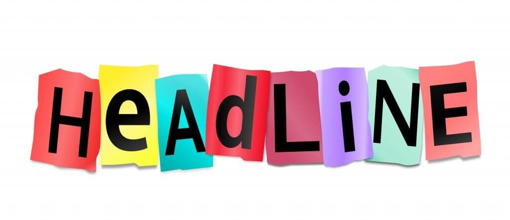 Headlines play the most important role in attracting new customers