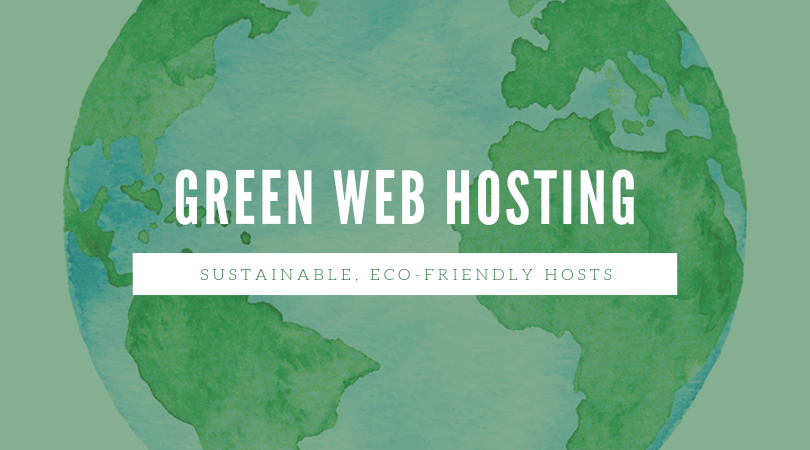 Be a part of the green movement with a green web hosting