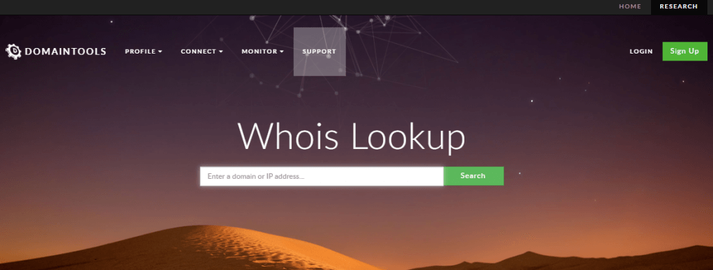 A hacker could easily find your site using Whois