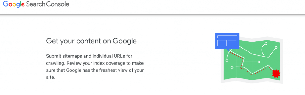 Create a sitemap and submit it to Google for indexing your site