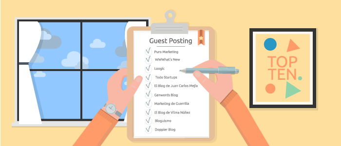 Use guest posting to get better links