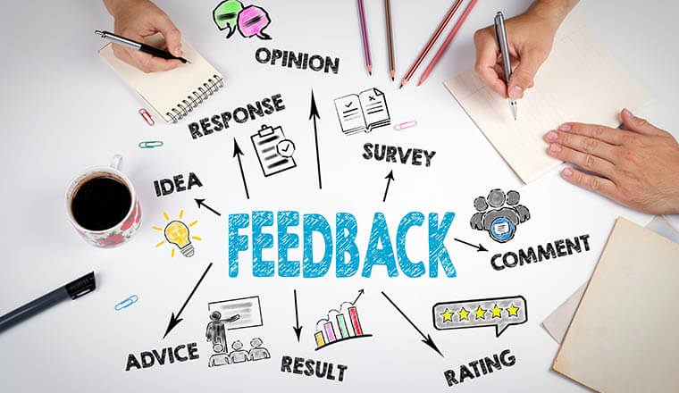 You need customer feedback to improve your business