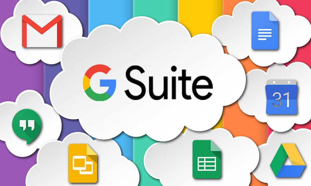 GSuite is a great tool for working remotely