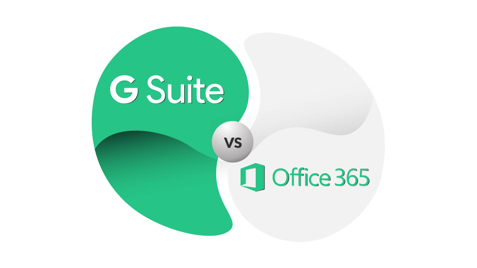 G Suite vs Office 355 showdown with a comparison chart