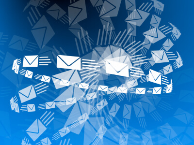 circles-of-email-envelopes