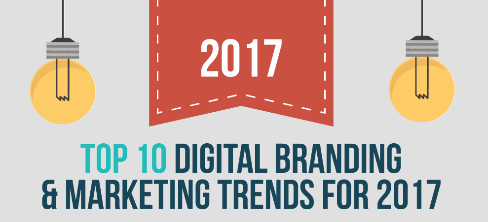 Top 10 Digital Branding & Marketing Trends for 2017